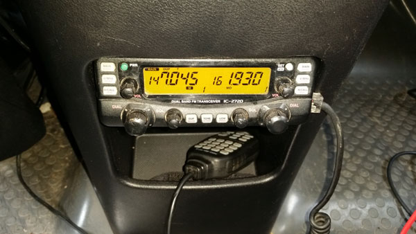 Honda Element Ham Radio Installation